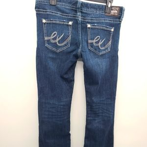 Express  women's low rise jeans